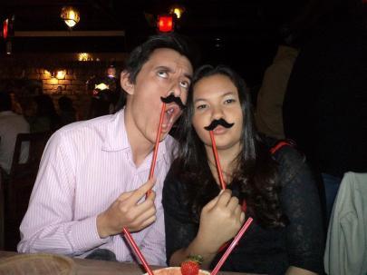 Vanessa e Juan_Bigode