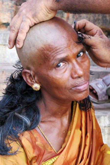 Viúva em Varanasi