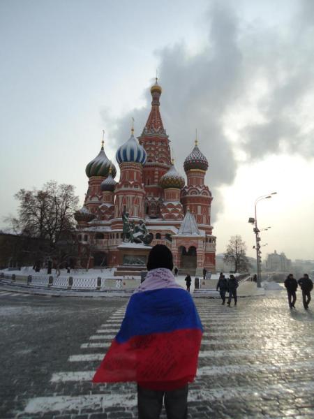 Outro hobby do Fernando é viajar, em 2011 ele fez intercambio na Rússia.